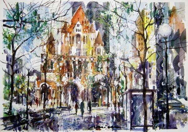 Misha Lenn, an exquisite artist of aquarelle – My Moscow