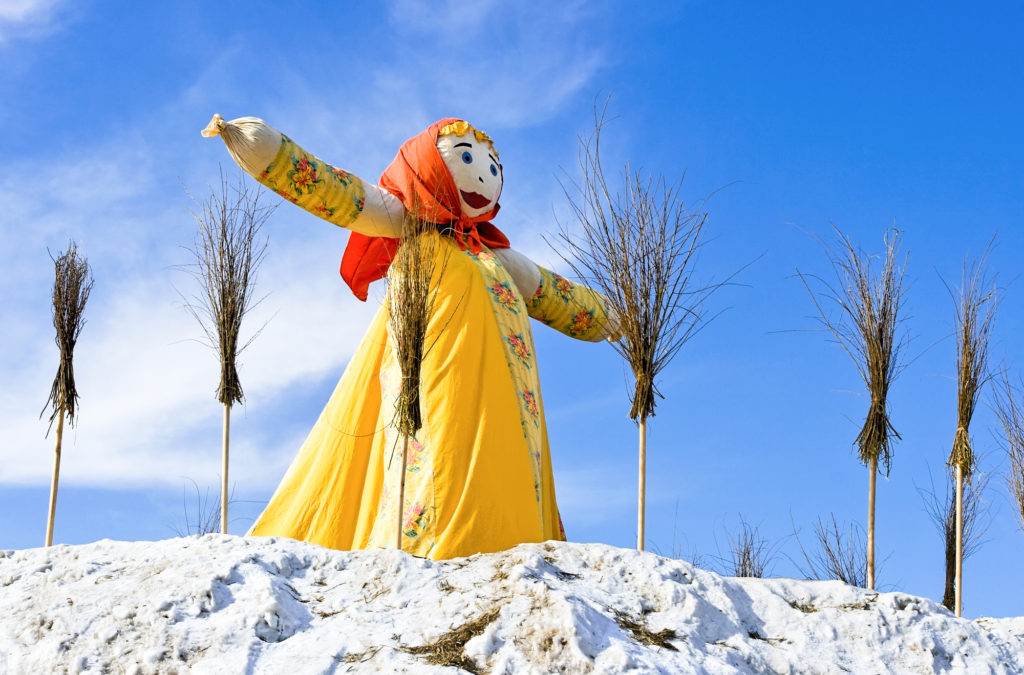 The figure of Maslenitsa