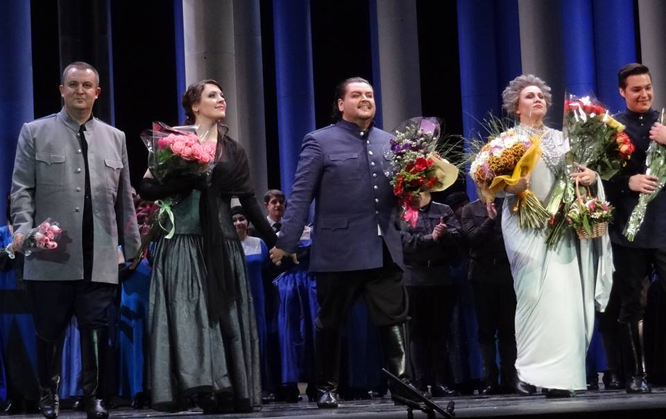 """The Queen of Spades"""", The Stanislavsky Theatre, Moscow"""