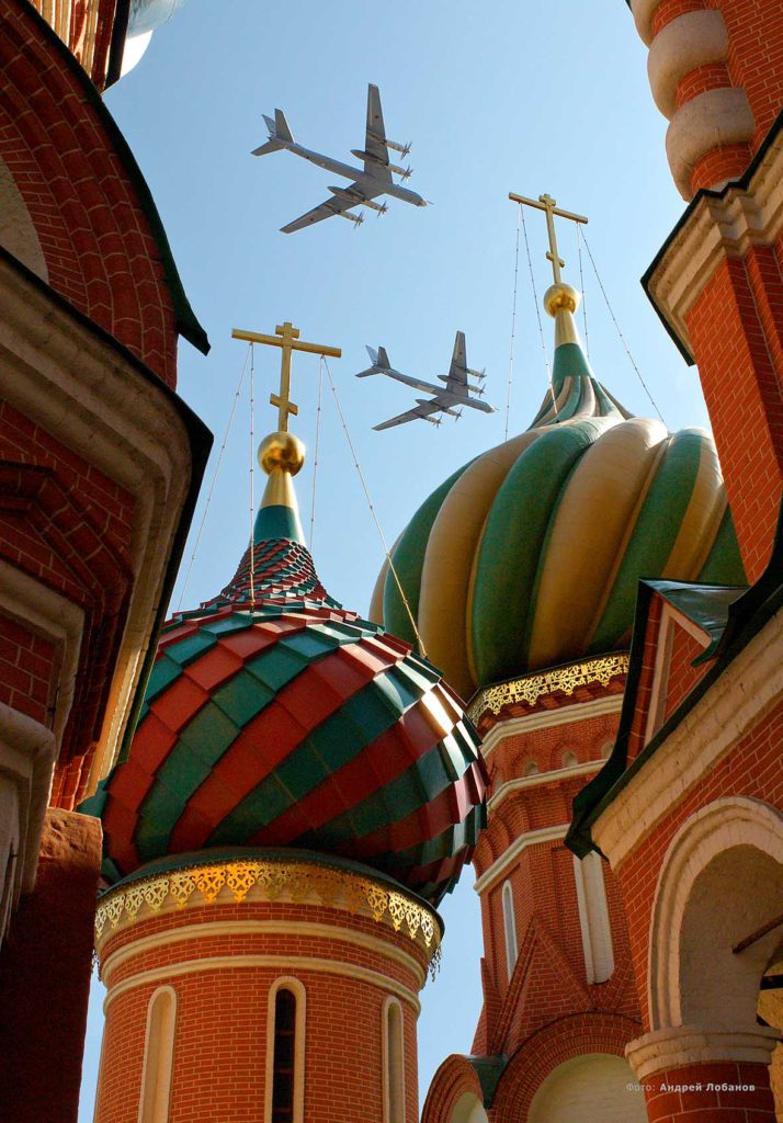 Parade, planes, Red Square