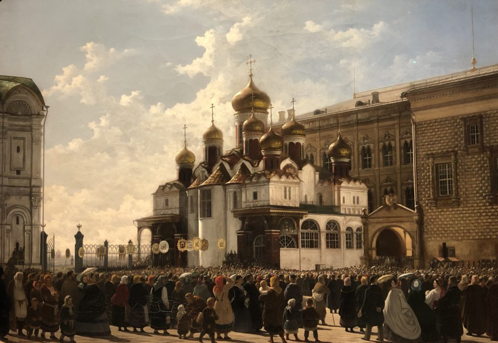 The picture of White Kremlin