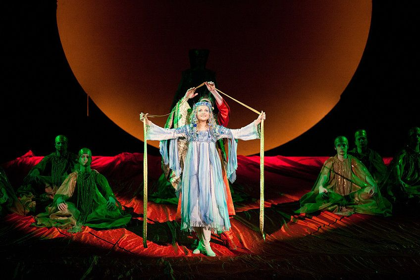 The Snow Maiden opera in Moscow 2