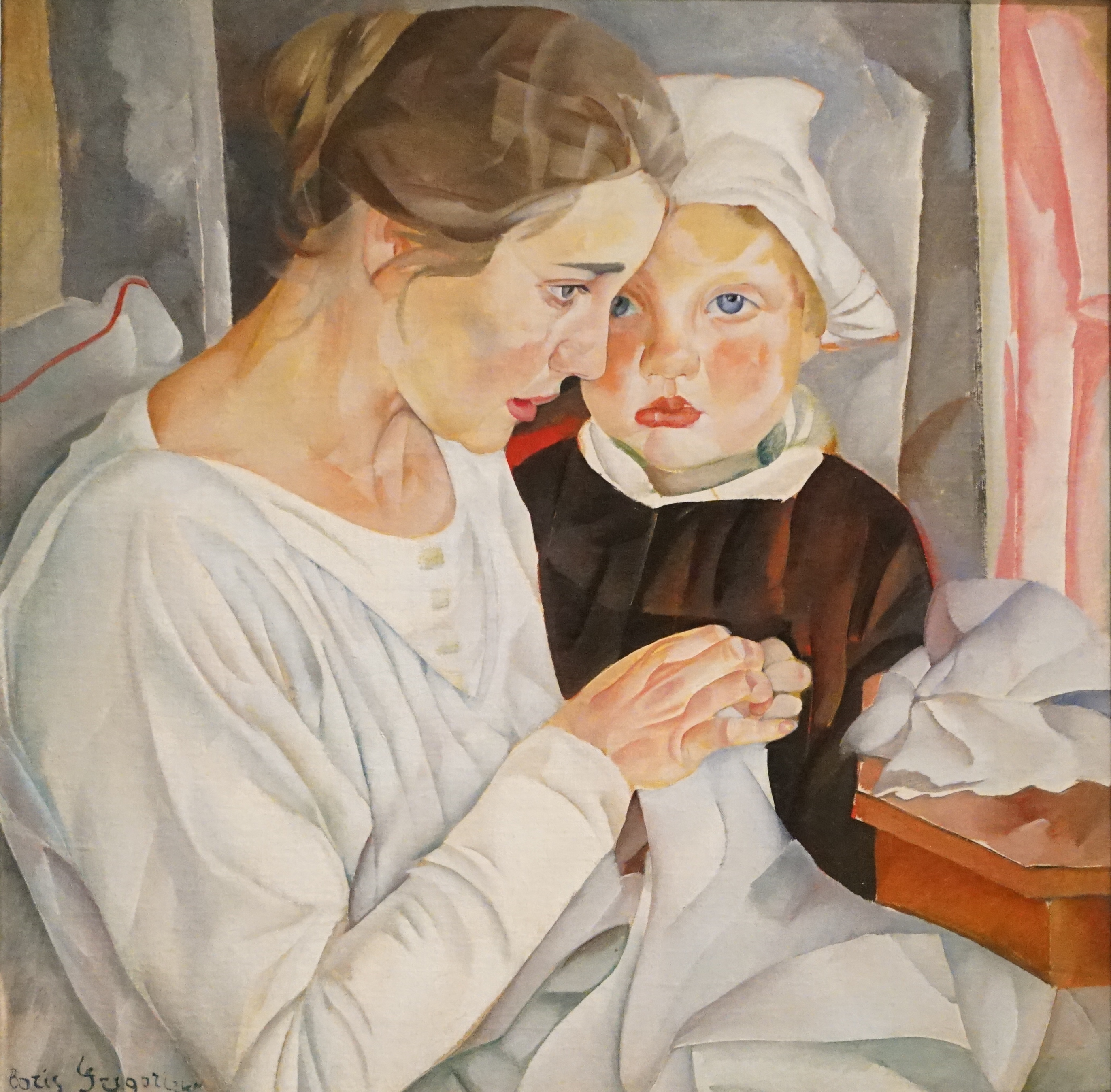 Mother and Child by Boris Grigoriev