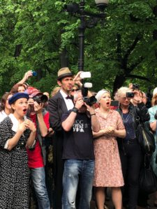 Bulgakov's Festival at Patriarch's Ponds 1
