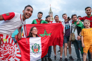 World Cup in Moscow fans 3