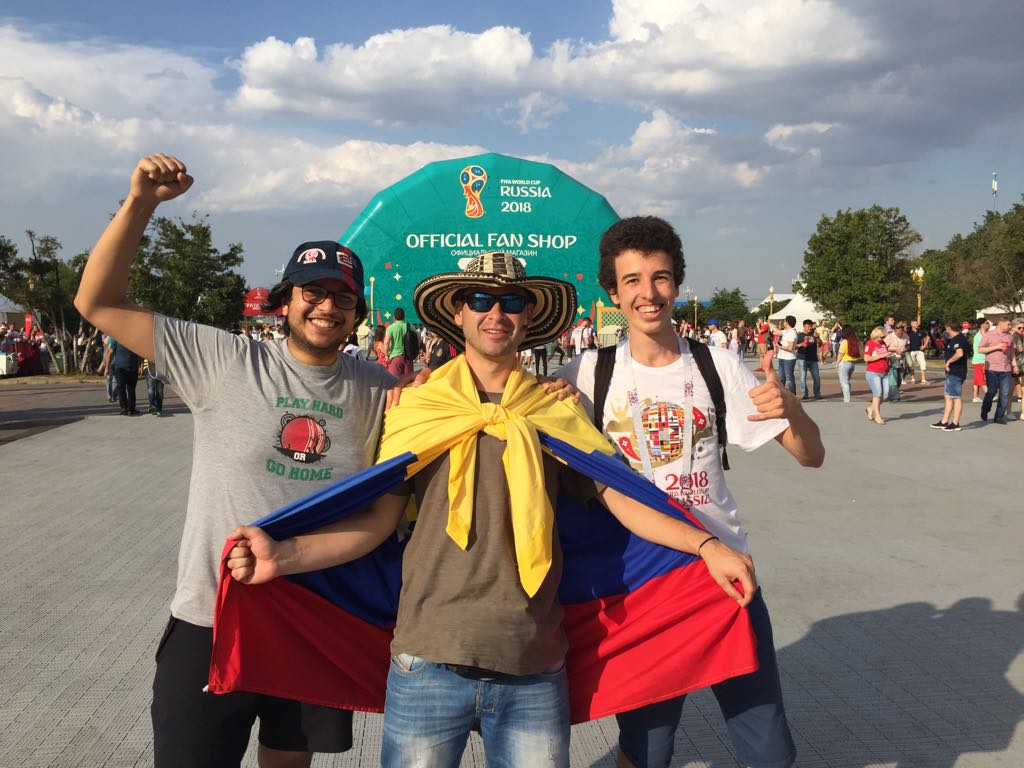 World Cup 2018 fans in Moscow 8