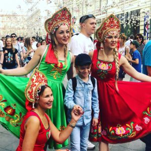 World Cup in Moscow fans 5