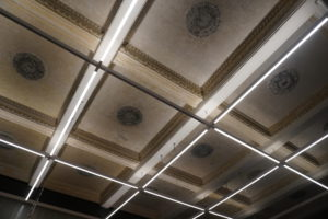 The Stanislavsky Electrotheatre, the ceiling
