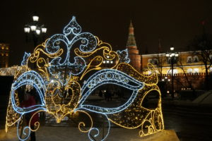 Moscow, New Year 2019, Manezh