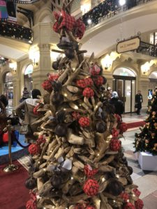 New Year 2019 celebrations in Moscow, GUM