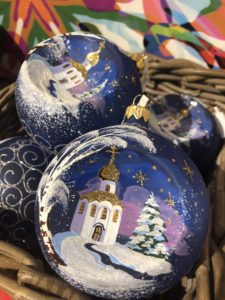 New Year 2019 celebrations in Moscow, GUM decor