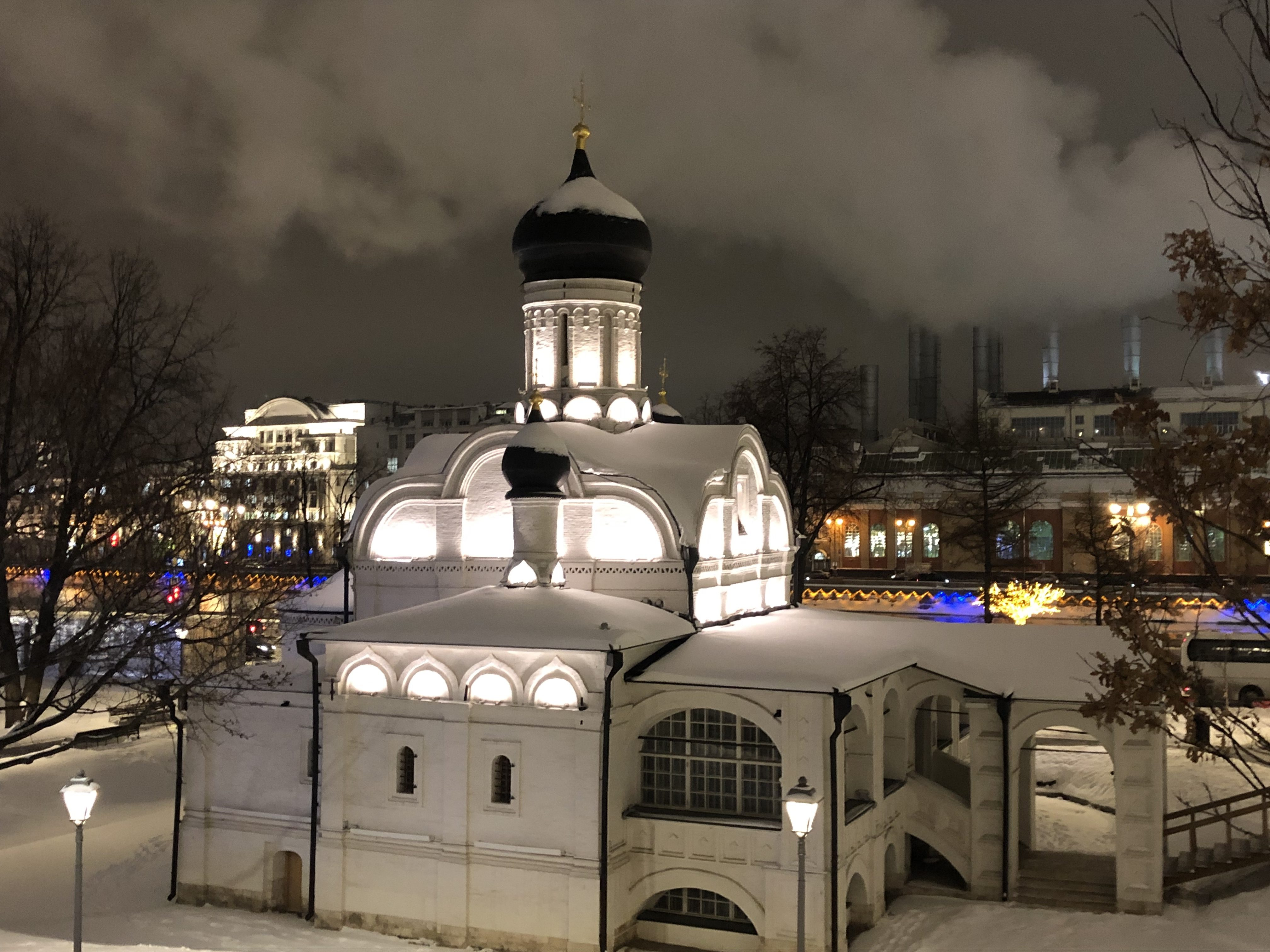 Moscow winter 2019