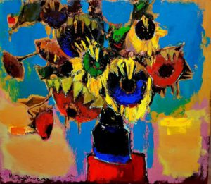 Mher Chatinyan Art, flowers