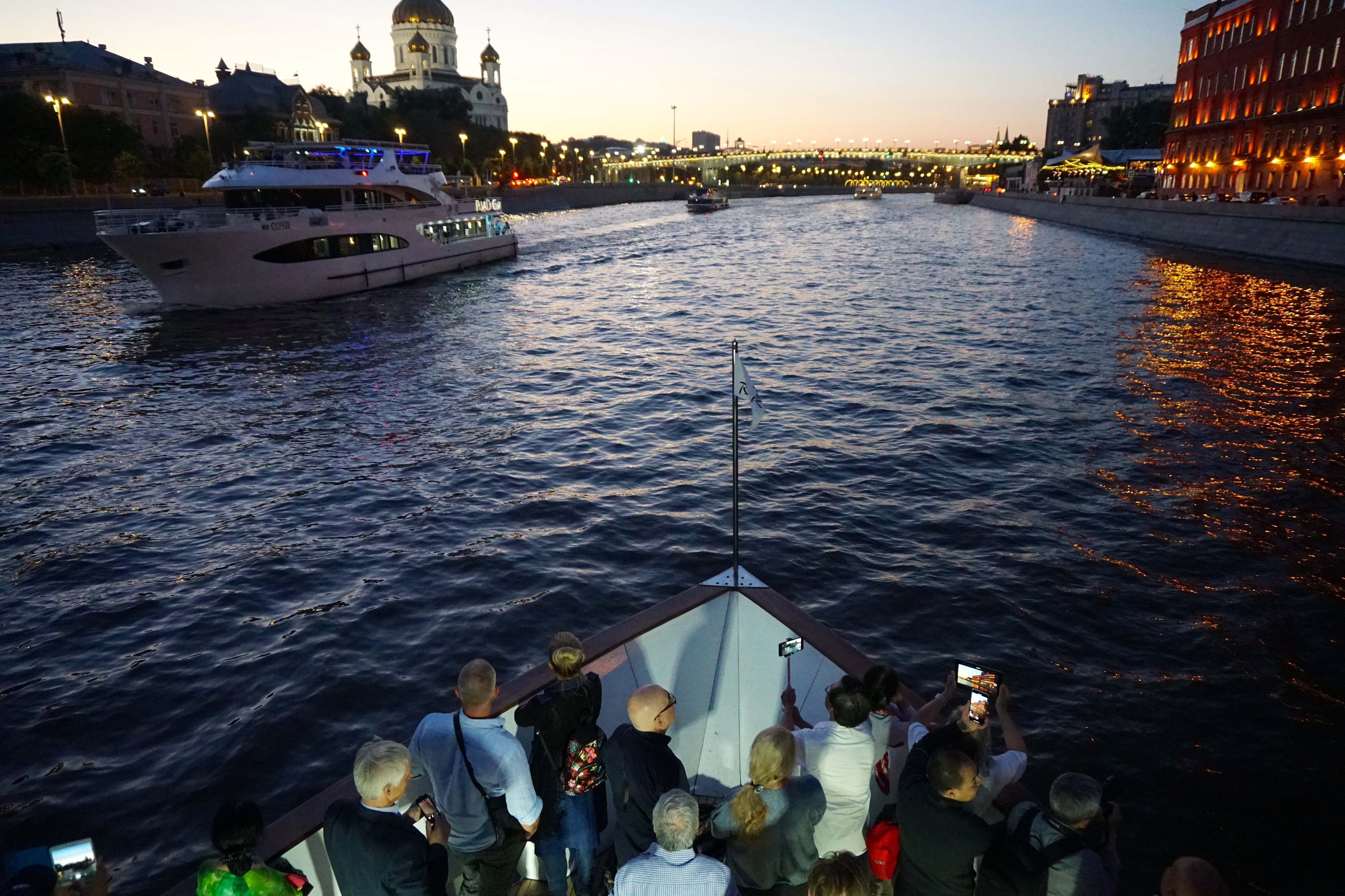 Moscow river boat trip 6