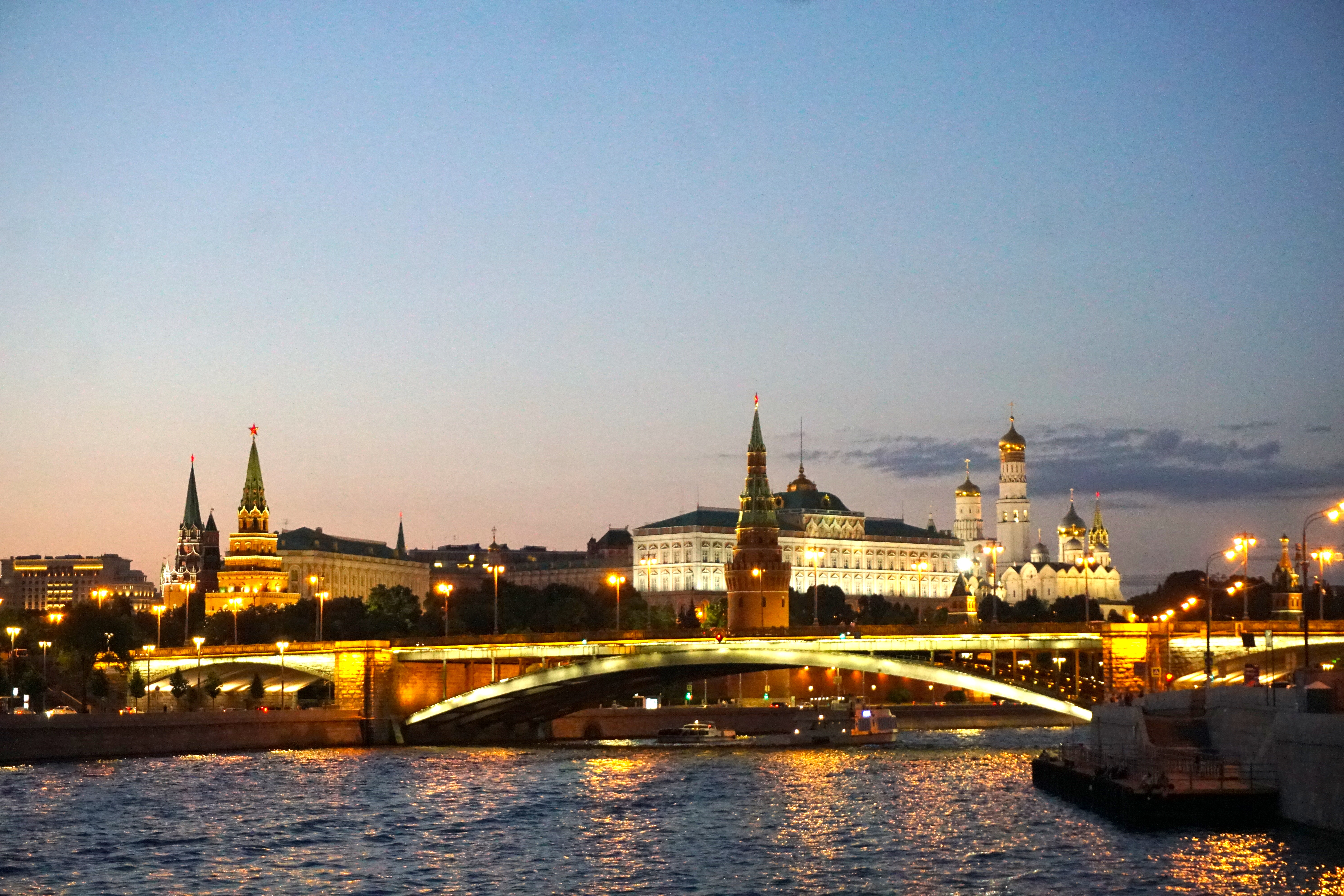 Moscow river boat trip 2