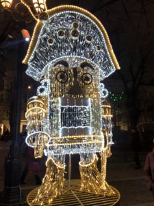 New Year 2020 Decorations Moscow Nutcracker